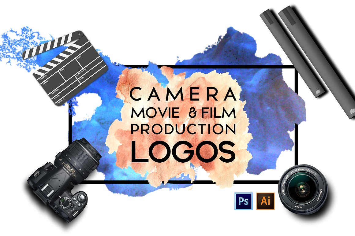 Camera,Movie & Film Production Logos